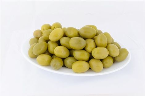 Green Halkidikis Whole Olives