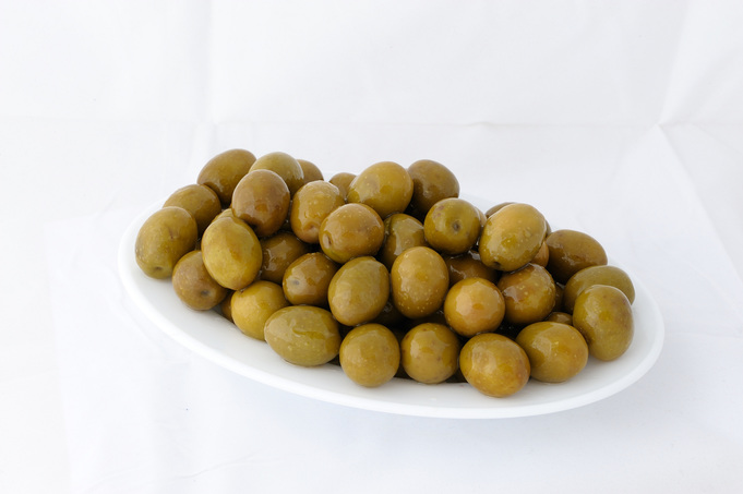 Blonde Amfissis olives