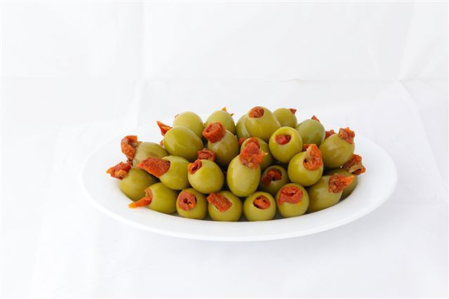 GREEN STUFFED WITH DRY TOMATO